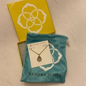 Kiri necklace in Slate by Kendra Scott